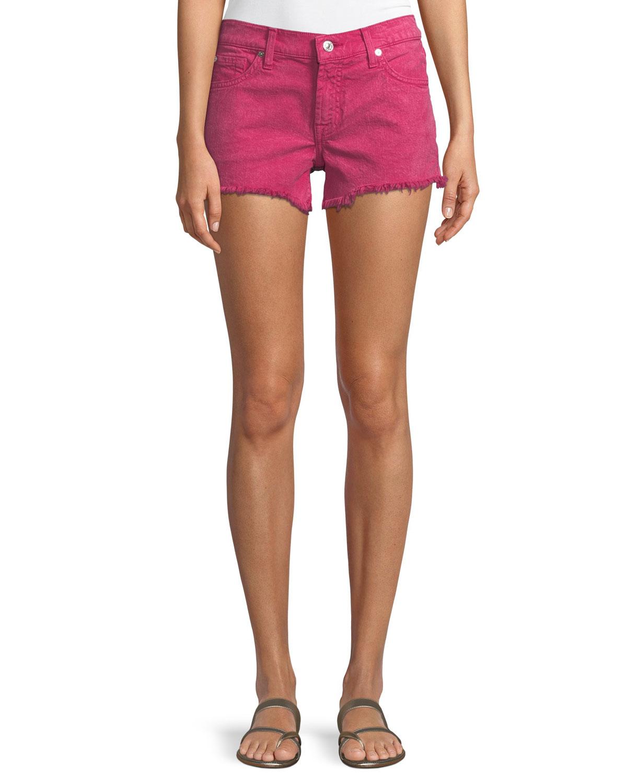 Cutoff Jean Shorts