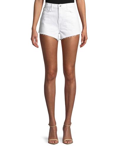 Ryland High-Rise Denim Cutoff Shorts