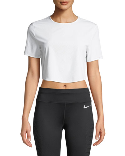 City Ready Cropped Active Tee