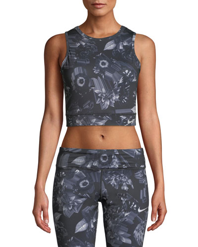 Epic Lux Cropped Running Tank