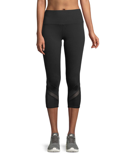 Elevate High-Waist Capri Leggings