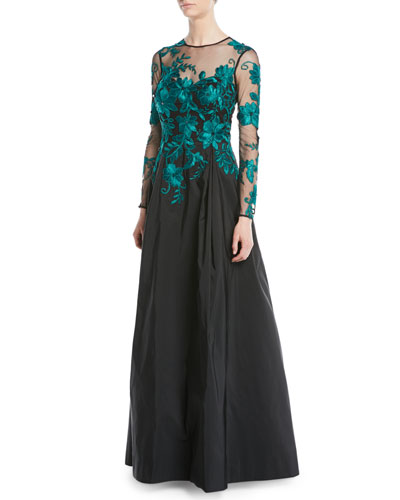 f0beab50a40 Lace Evening Gown