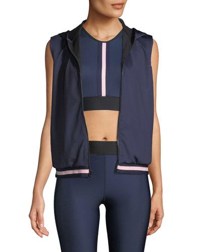 Flux Collegiate Zip-Front Performance Vest