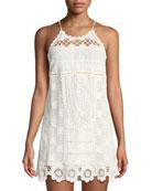 Alexia Lace Coverup Mini Dress