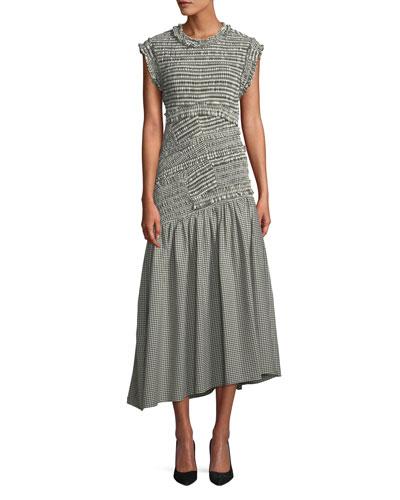 Dropped Waist Dress | Neiman Marcus