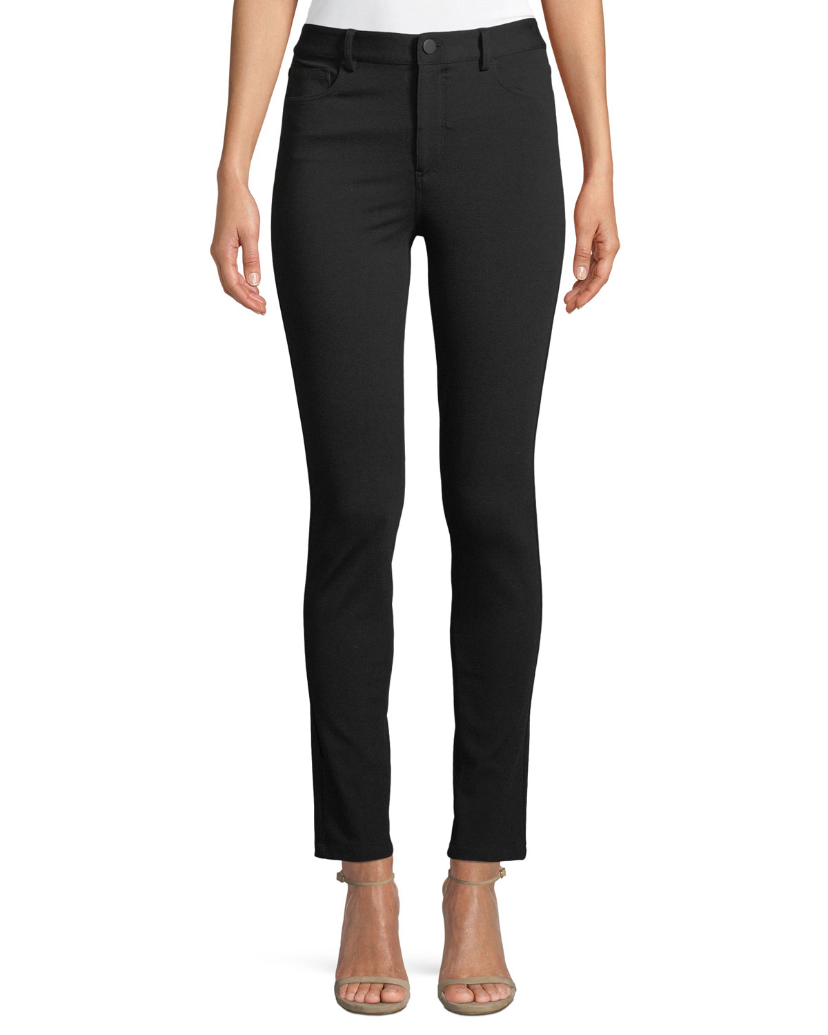 Fixture Ponte Five-Pocket Straight-Leg Pants
