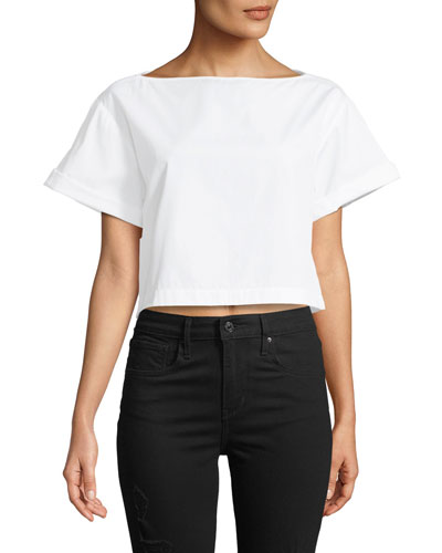 Woodsen Boxy Short-Sleeve Tee