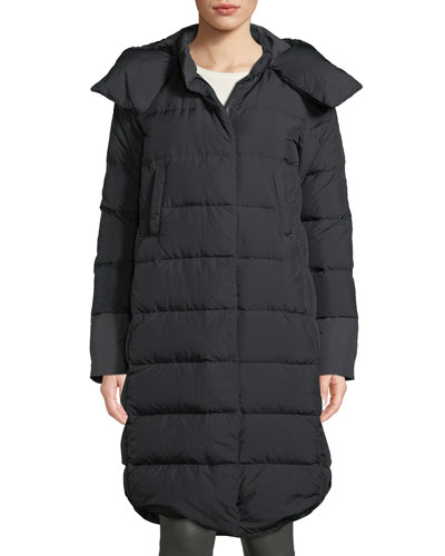 Cryos II Down Parka Coat w/ Snap-Off Hood