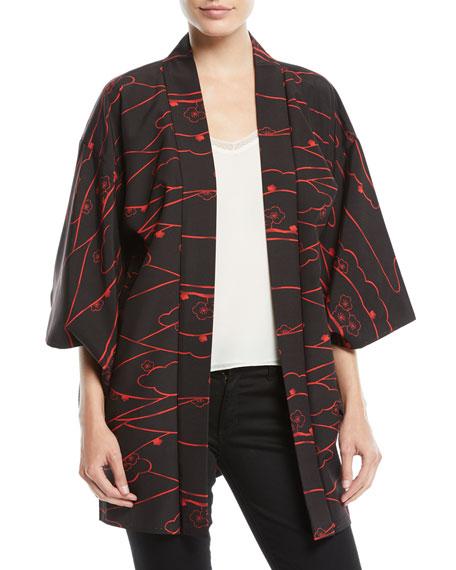 Elizabeth & James Vintage One-of-a-Kind Kimono