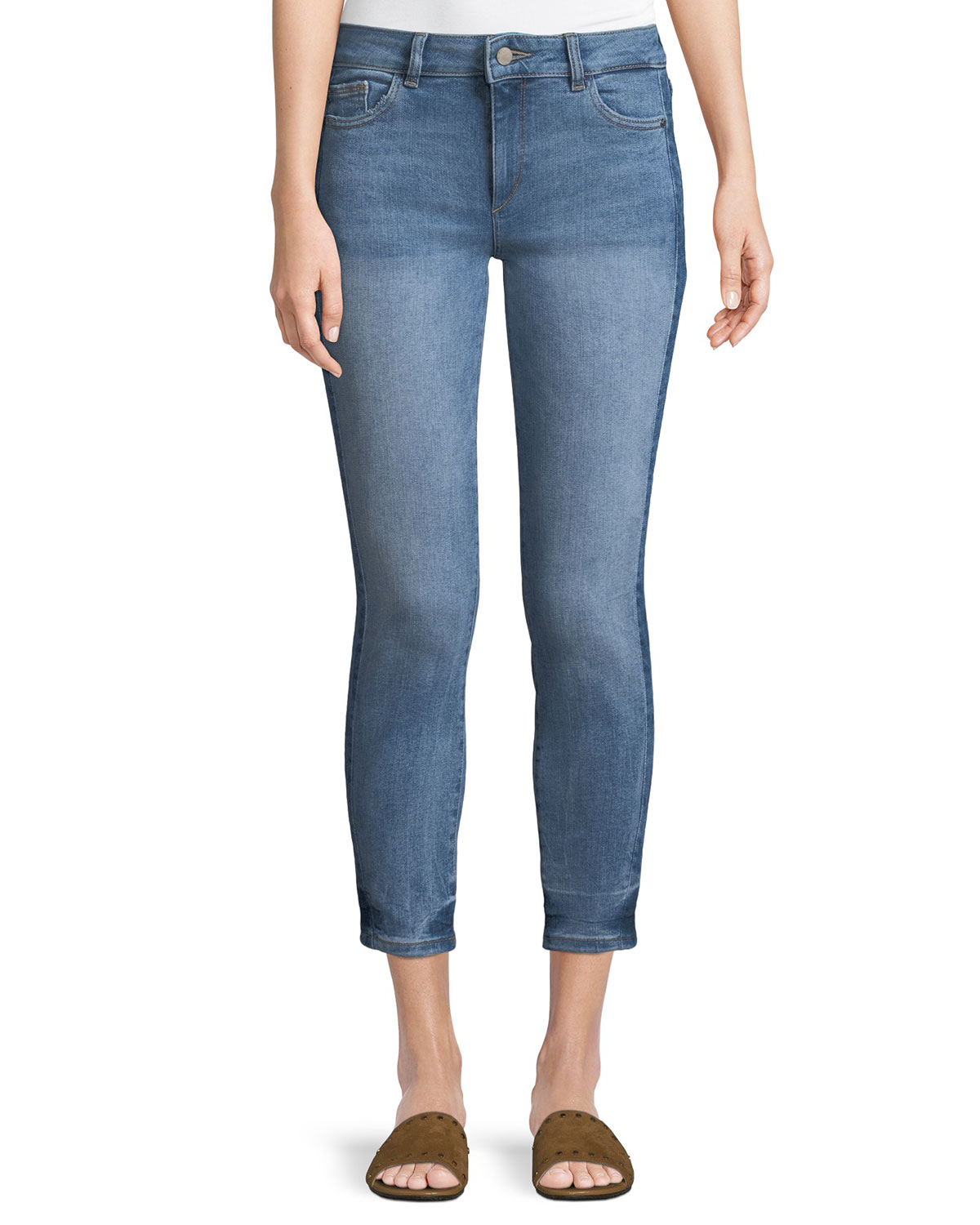 Florence Cropped Skinny-Leg Jeans