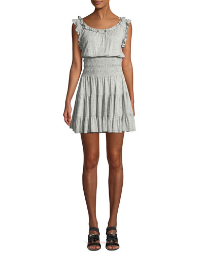 d3f44981af Quick Look. Rebecca Taylor · Sleeveless Ruffle Jersey Dress