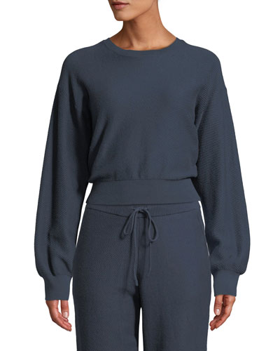 Lydia Crewneck Long-Sleeve Sweatshirt