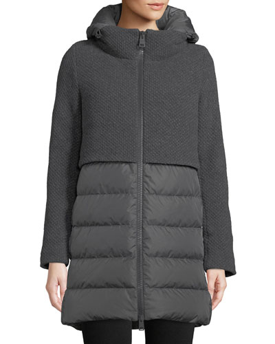 f882baa00 Feather Fill Coat | Neiman Marcus
