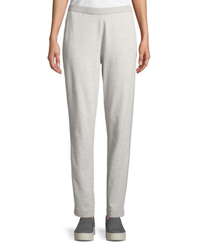 42bc4731c7b52 Elastic Waist Polyester Spandex Pants