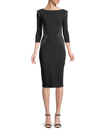 Agneta Shiny Beaded Dress