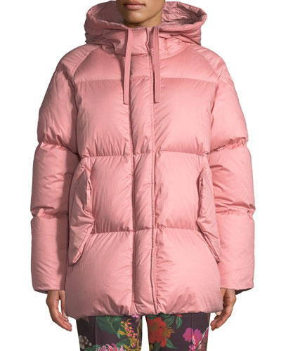 Nerium Hooded Puffer Jacket