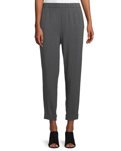 f09c215630c31 Quick Look. Eileen Fisher · Slouchy Cropped Tencel Jersey Pants