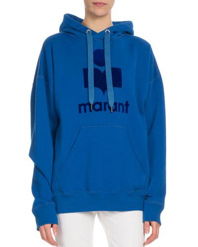 Mansel Hooded Logo Graphic Sweatshirt