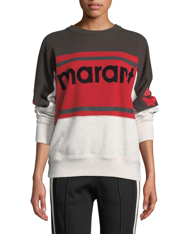 Gallian Logo Colorblock Sweatshirt