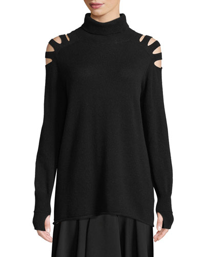 Neiman Fitted Marcus Top Wool Turtleneck tRpwqrRZ