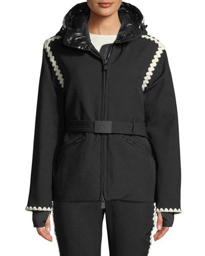 Bourget Jacket w/ Contrast Details