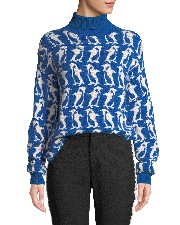 Penguin Turtleneck Sweater