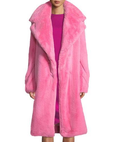 d44e79f7f30 Quick Look. Milly · Riley Long Faux-Fur Coat