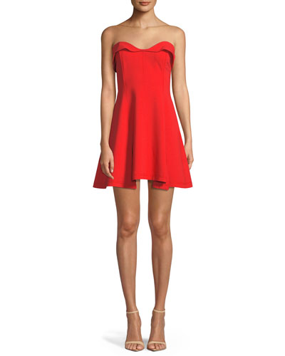 Ani Strapless Sweetheart Mini Dress