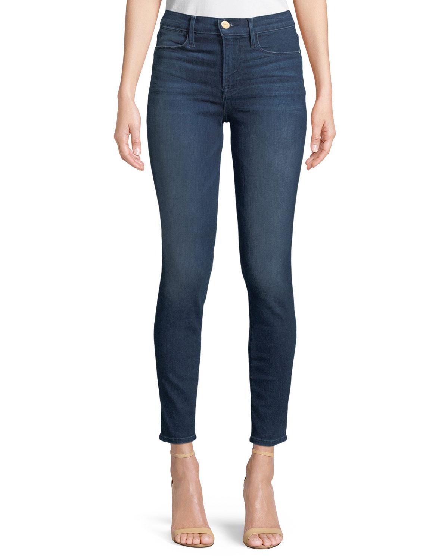 Le High Skinny-Leg Jeans