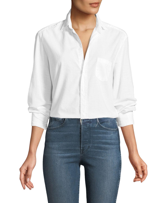 Eileen Casual Cotton Button-Up Shirt