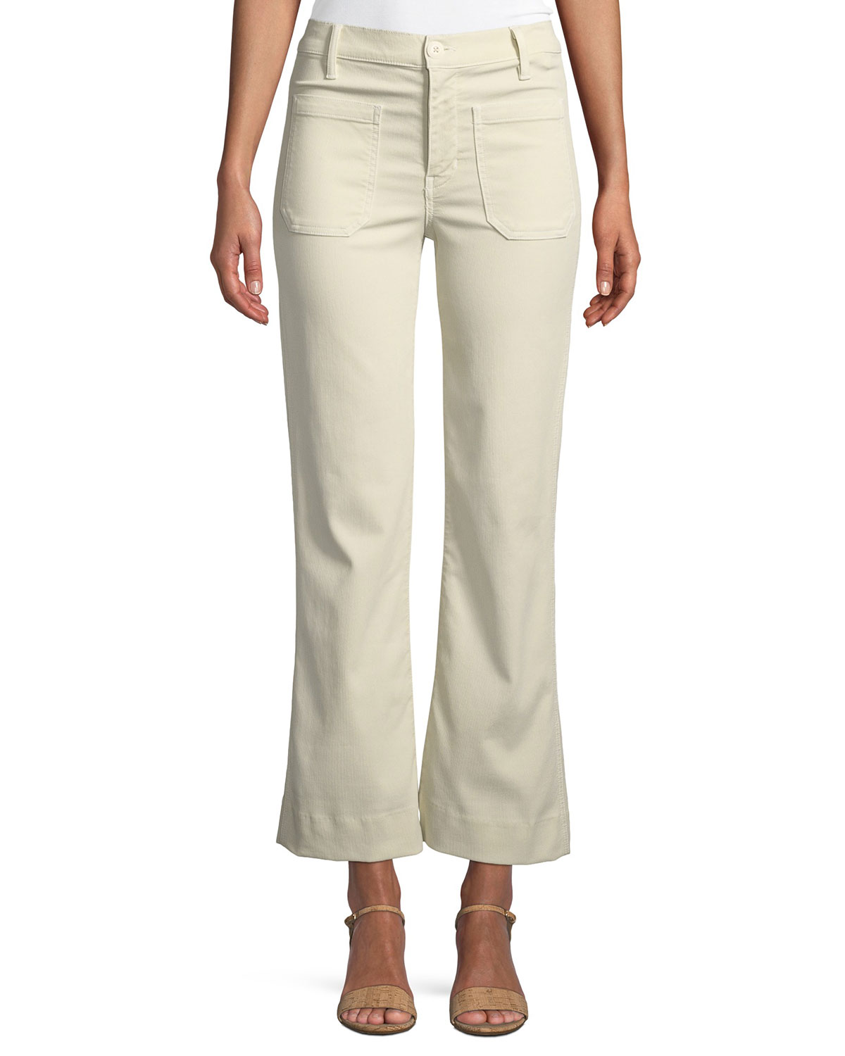 The Cropped Mariner Flare-Leg Pants