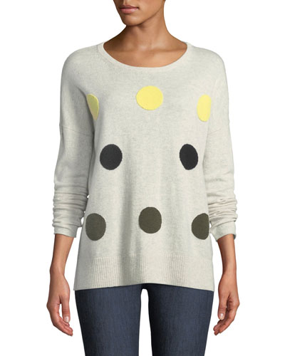Classic Hot Spots Cashmere Sweater