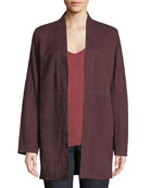 Eileen Fisher Suede Kimono Jacket and Matching Items