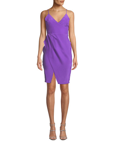 Midtown Sleeveless Silk Dress
