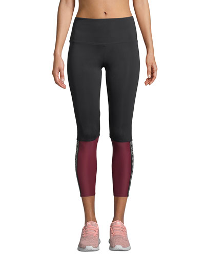 6c5e57971a Quick Look. Onzie · Olympian High-Rise Colorblock Performance Leggings