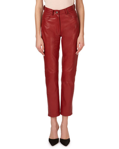 Evansville Leather Pants