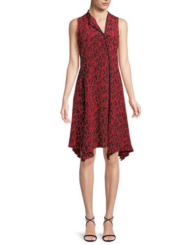 e8151e3cd76aa Bias Cut Sleeveless Dress