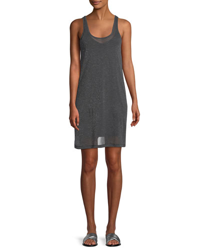 Dawson Scoop-Neck Tank Dress