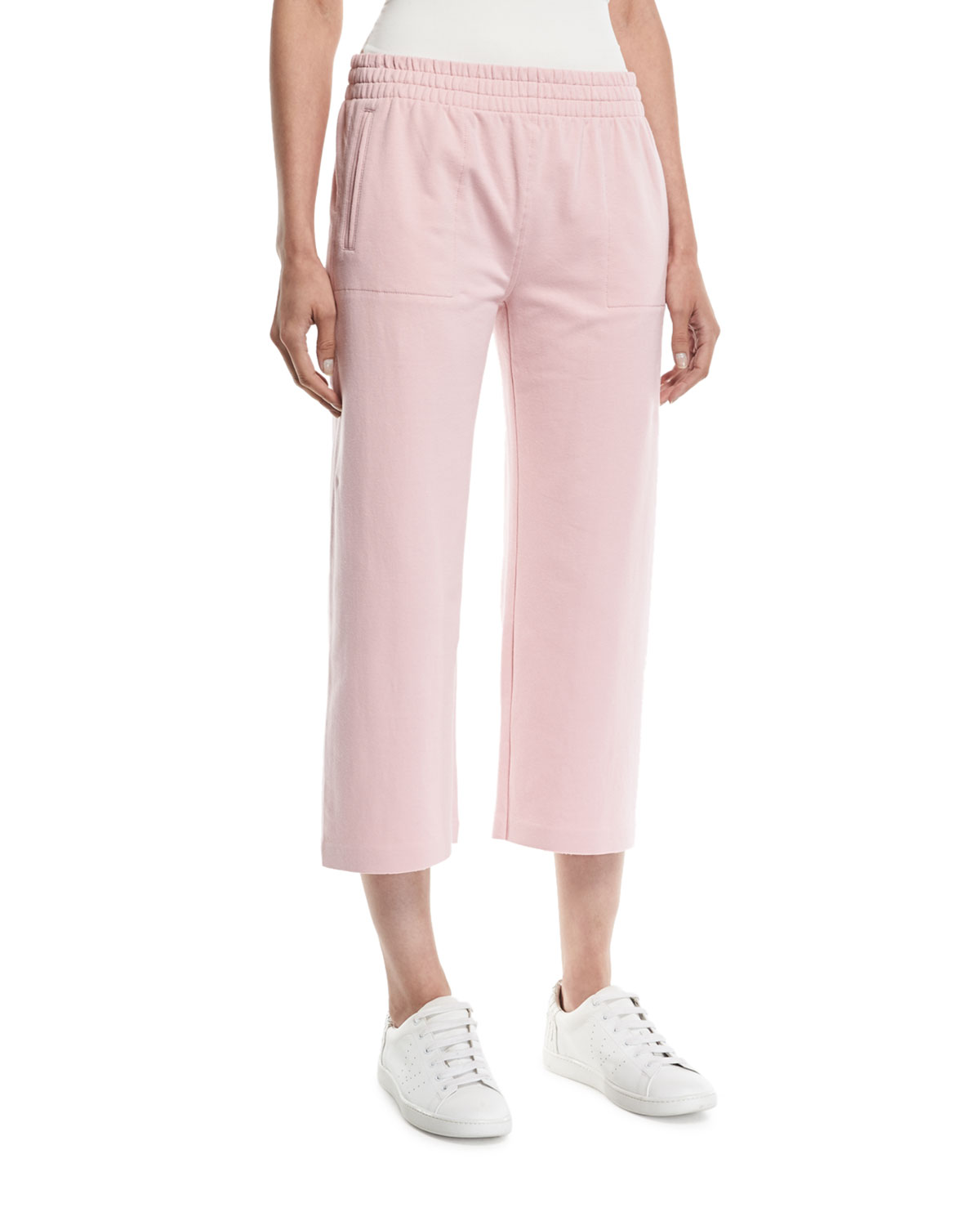 Cropped Boyfriend Sweatpants