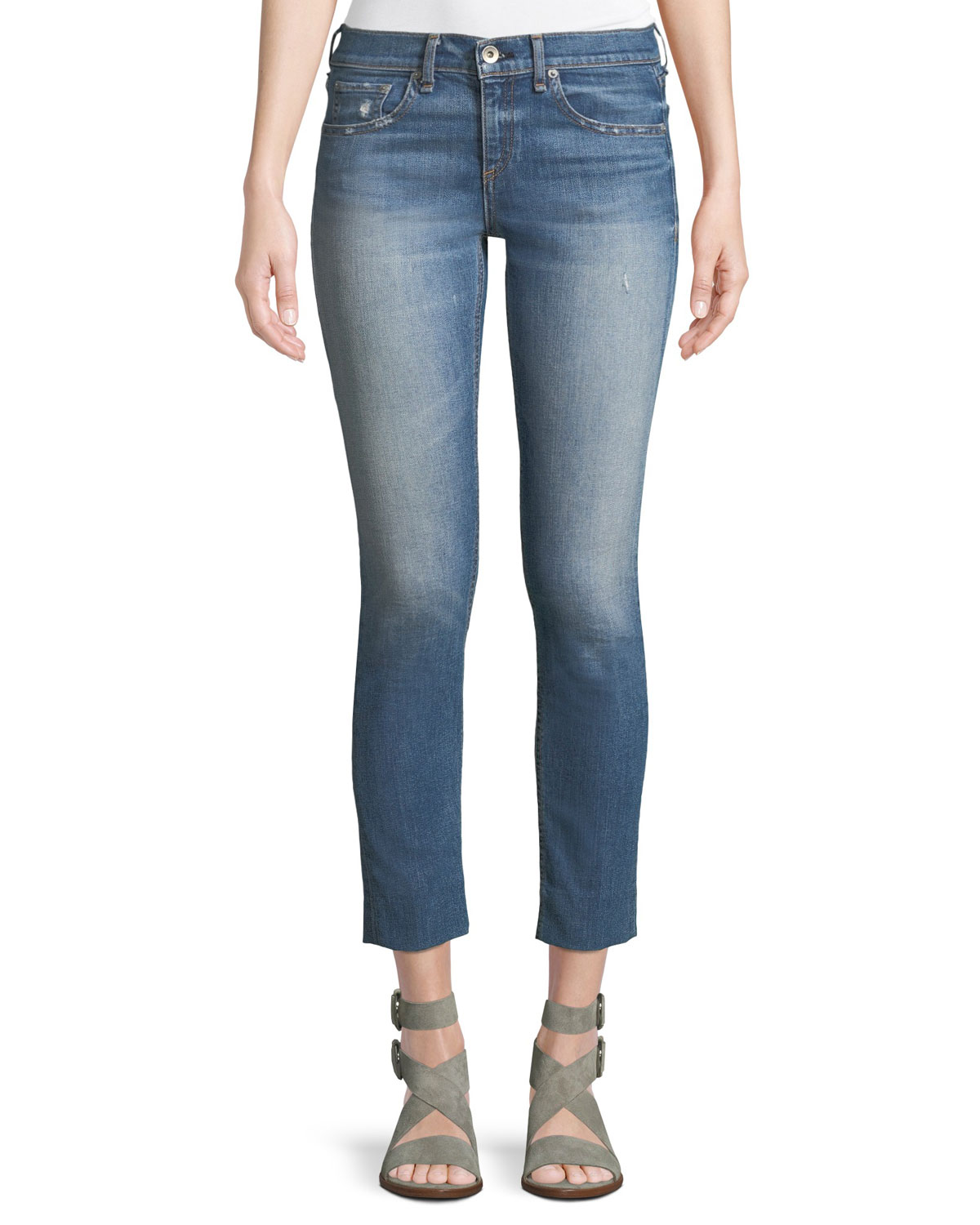 Dre Cropped Ankle Skinny Jeans