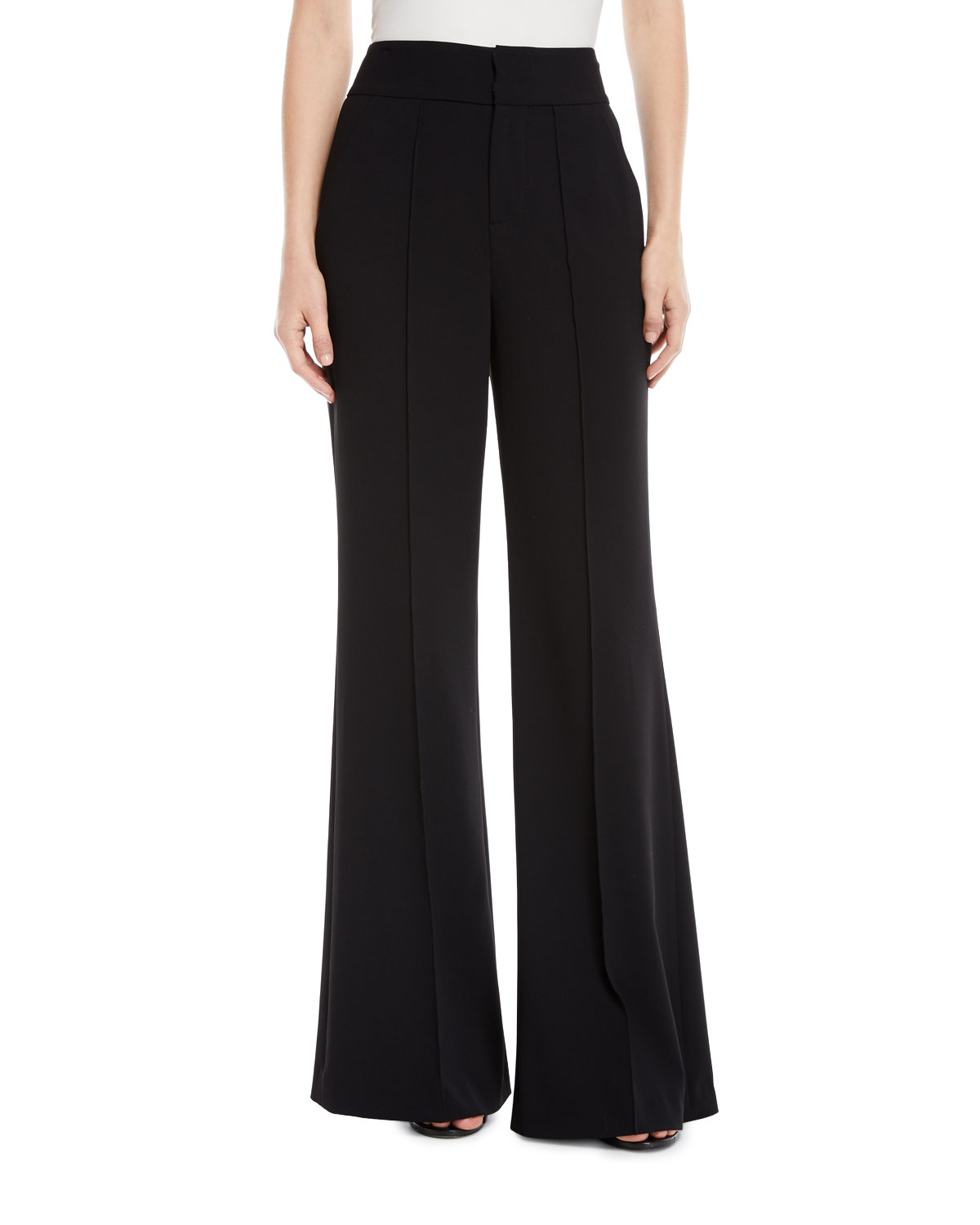 Jalisa High-Rise Wide-Leg Pants