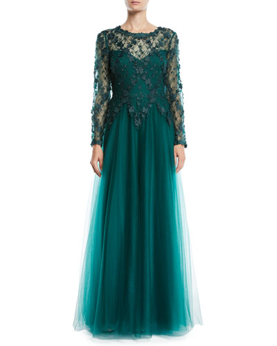 607ac11687 Emerald Evening Gown