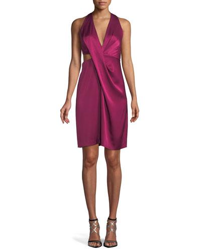 9d083ff1340 Halter Tie Back Dress