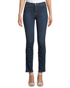 J Brand Ruby High-Rise Denim Cigarette Jeans (30