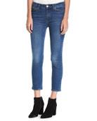 MiH Niki Mid-Rise Crop Skinny Jeans