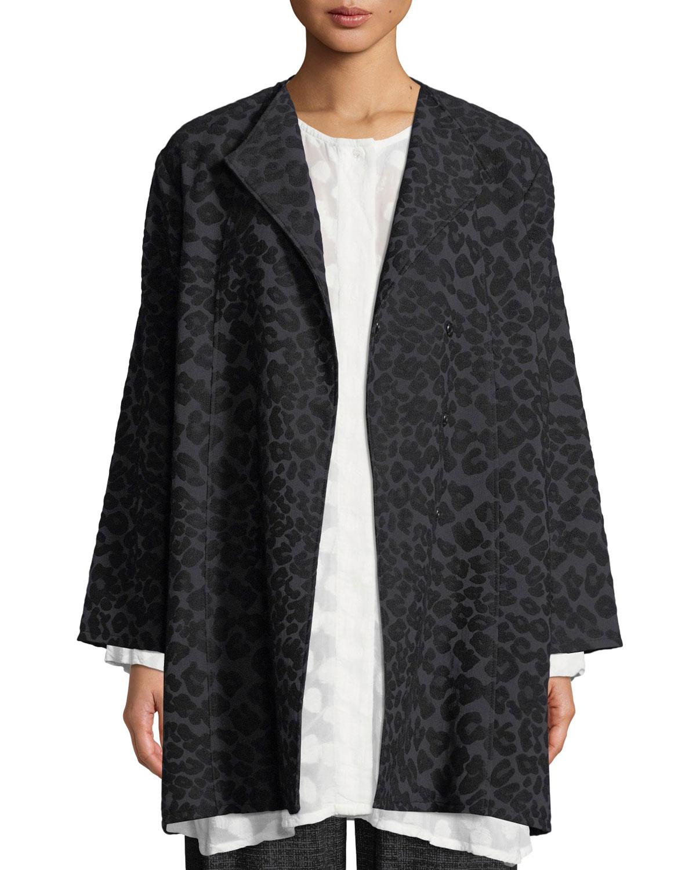 Josea Leopard-Pattern Jacket