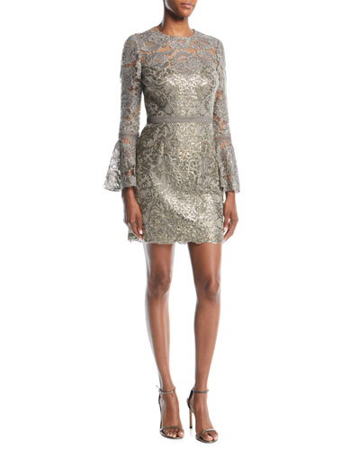 0c098841026 Quick Look. Tadashi Shoji · Somerset Sequin Lace Dress ...