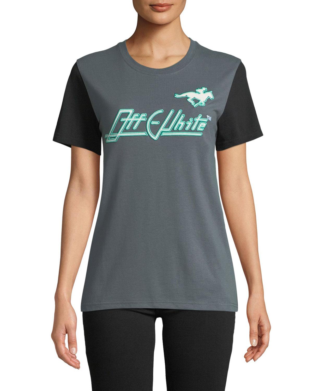 Embellished Graphic Crewneck Sweatshirt