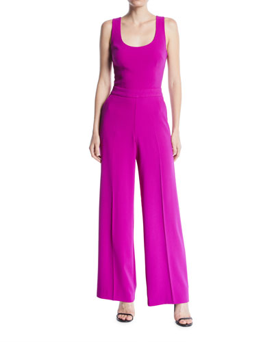 fce14d93c9c Quick Look. Trina Turk · Scoop-Neck Sleeveless Wide-Leg Jumpsuit