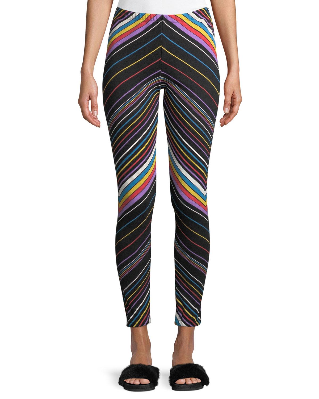 Knox Chevron-Stripe Sweatpants